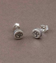 Om Stud Earrings by fourseven