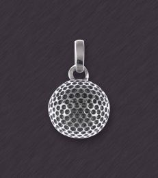 On the Green Golf Ball Pendant by fourseven