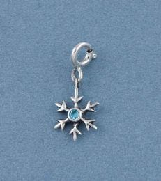 One of a Kind Snowflake Charm by fourseven