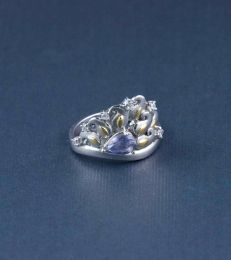 Paisley Plume Ring by fourseven
