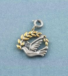 fourseven Peace Dove Charm