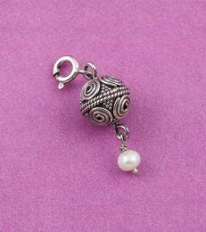 Pearl Art bead Charm by fourseven