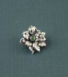 Poinsettia Brooch by fourseven