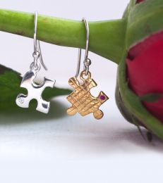 fourseven A Perfect Fit Puzzle Earrings