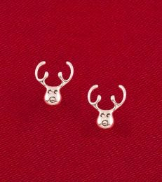 Reindeer Rudolph Stud Earrings by fourseven