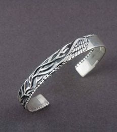 Roots and Wings Cuff Bracelet by fourseven