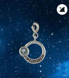 Optimistic Sagittarius Zodiac Charm by fourseven