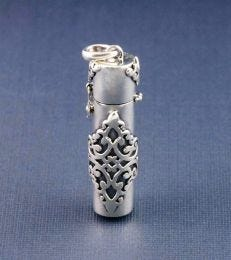 Secret Scroll Pendant in Silver by fourseven