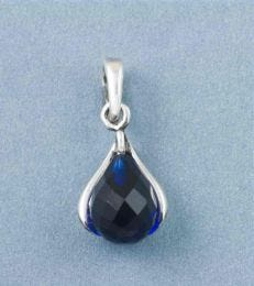 September Birthstone Pendant with Sapphire by fourseven