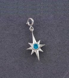 Shining Bright North Star Charm by fourseven