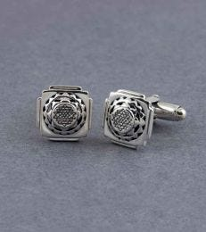 Shri Yantra Cufflinks by fourseven