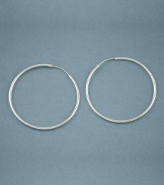 Simplicity Hoop Earrings-Large by fourseven