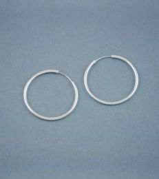 Simplicity Hoop Earrings medium by fourseven