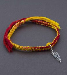 Simplicity Moli Bracelet with angel wing charm by fourseven