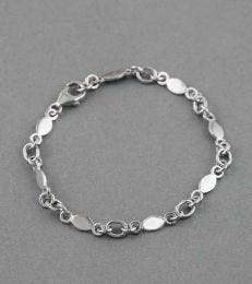 Simply Charming Charmholder Bracelet in Silver