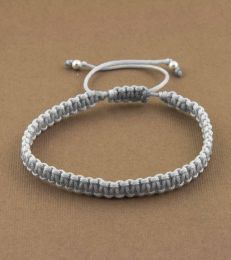 Simply Charming Friendship Bracelet in Grey by fourseven