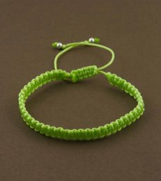 Simply Charming Friendship Bracelet in Parrot Green by fourseven