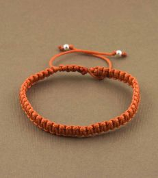 Simply Charming Friendship Bracelet in Rust by fourseven