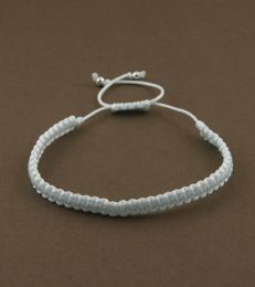 Simply Charming Friendship Bracelet in White by fourseven