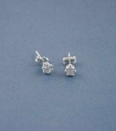 Simply CZ Stud Earrings by fourseven