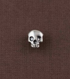 Skull stud in sterling silver by fourseven