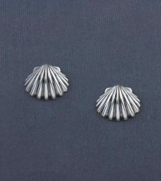 Sounds of the Sea Shell Stud Earrings by fourseven