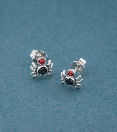 Spider Stud Earrings by fourseven