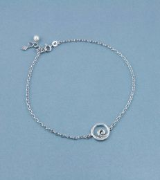 Spiral Seashell Anklet by fourseven