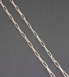 Sterling Silver Link Chain by fourseven