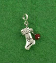 Stuff My Stocking Charm by fourseven in Sterling Silver