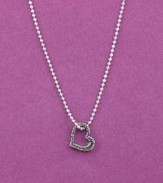 Sweetheart Pendant with Large Bead Chain by fourseven