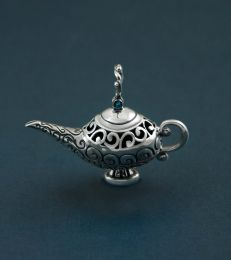 Three Wishes Genie Lamp Pendant by fourseven