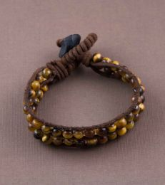 Tiger's Eye Double Layer Bracelet by fourseven