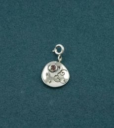 I Love You to the Moon and Back Charm by fourseven
