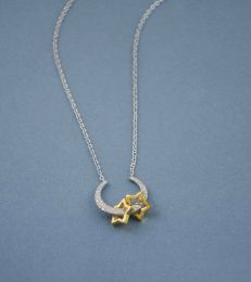 To the Moon and Back - With Two My Little Star Pendants