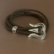 Trishul Third Eye Versatile Necklace Cum Bracelet by fourseven
