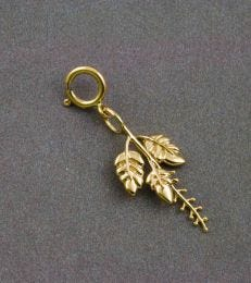 14K Gold Tulsi Charm by fourseven
