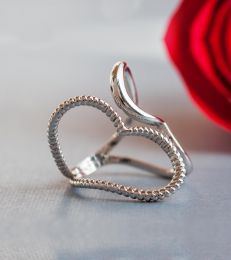 Heart to Heart Adjustable Ring composition picture