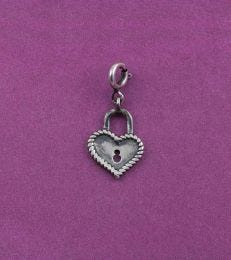 Unlock My Heart Charm