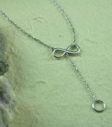 Infinity Charm Necklace by fourseven