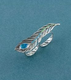 Vivid Plume Ring by fourseven