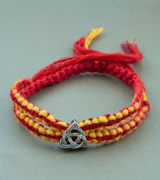 Knot of Protection Silver Rakhi by Fourseven