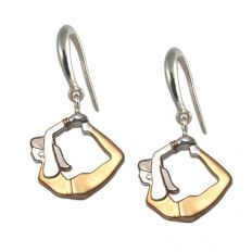 fourseven Yoga Girl Earrings in Bow Pose