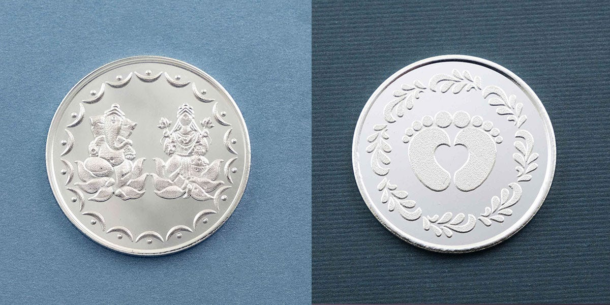 Best Diwali 2021 Gift from Fourseven:  Premium Pure Silver Coins for Every Occasion