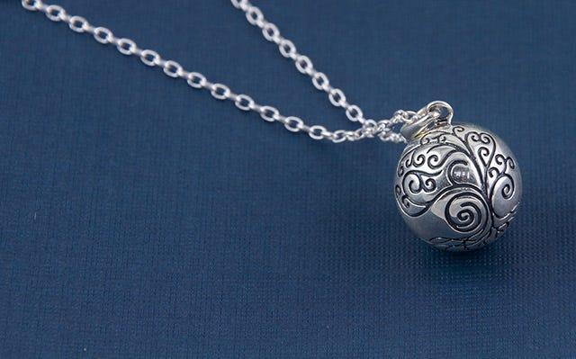 silver Maa Harmony Ball Necklace
