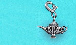 Disney Aladdin Magic Genie Lamp Charm