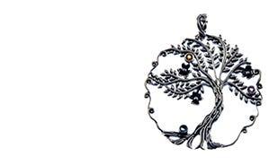 Silver Wishing Tree Pendant