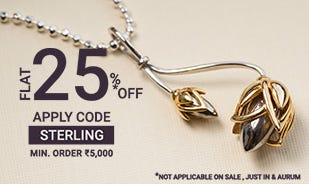 Flat 25% off on Rs.5000 and above