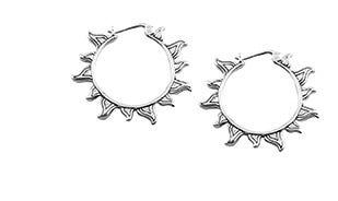 Sunshine baali earrings in silver