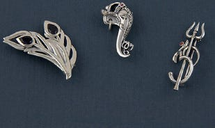 Silver Brooches Collection
